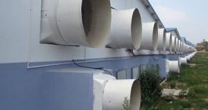 Вентиляция в курятнике круглыми воздуховодами