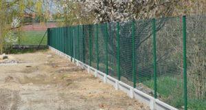 Забор для домашней птицы
